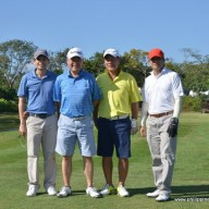 37TH PJFC GOLF TOURNAMENT TEAM6-Guantes,Tan,Matsumoto,Galve