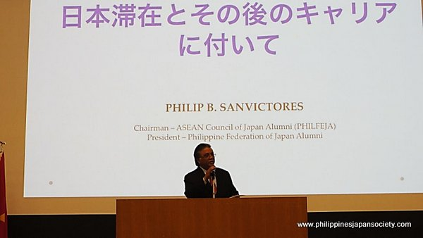 ASCOJA chairman Philip Sanvictores at conference