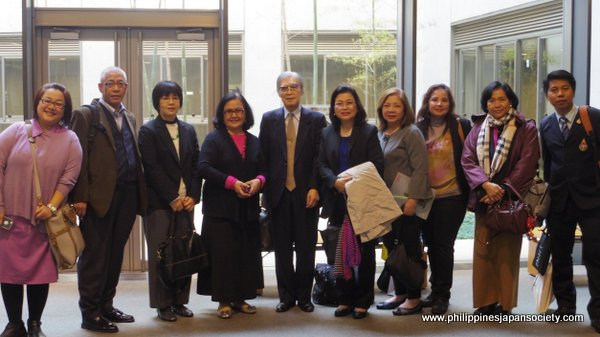 ASJA-ASCOJA attendees at Japan-ASEAN Youth Conference