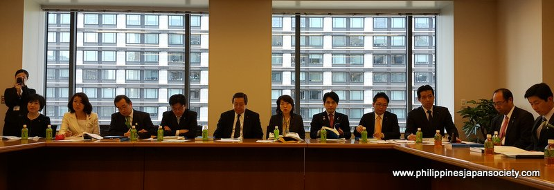 ASJA calls on Japanese Parliamentarians - The Philippines
