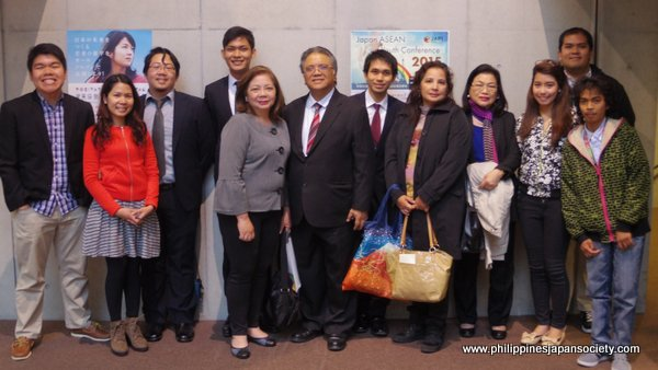 Association of Filipino Students in Japan with PHILFEJA Delegation