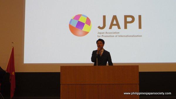 JAPI president Takayasu Omura