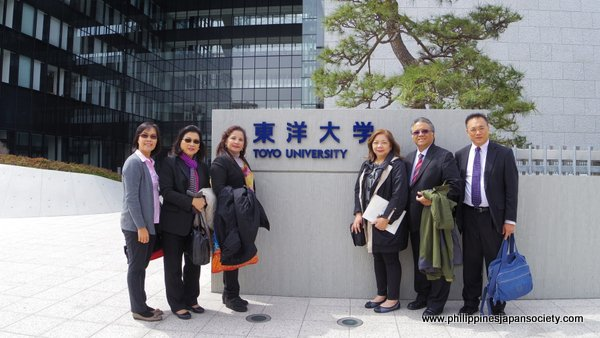 PHILFEJA Delegation with ASCOJA colleagues at Toyo University