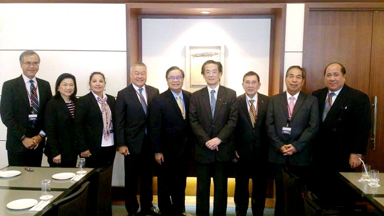 Coutesy Call to Ambassador Katsura at Marubeni Headquarters