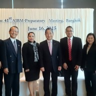 with Keizai Doyukai counterpart headed by Mr. Toshiyuki Shiga of Nissan Motor Co. Ltd.
