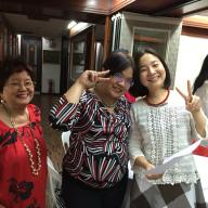 Mrs. Teresita S. Buhat, Ms. Joy A. Sanvictores, and Mrs. Takako Hirasawa