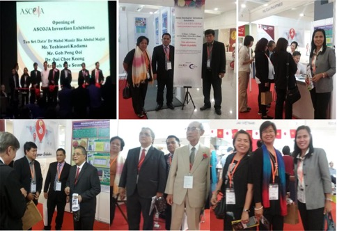 The viewing of PHILFEJA and other ASEAN chapters' booth during the ASCOJA's Japan Graduates Invention Exhibition .